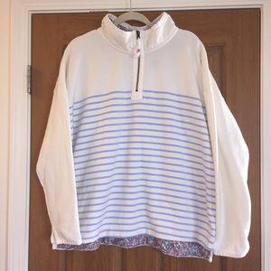 Joules quarter zip pullover sweatshirt